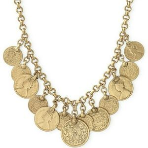 Stella and Dot Rio Coin Necklace